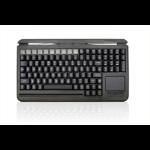 Accuratus S109C keyboard USB QWERTY Italian Black