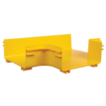 Tripp Lite SRFC10JUNT cable tray T-type cable tray 90° Yellow