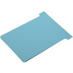Nobo T-Cards Blue 100pc(s) index card