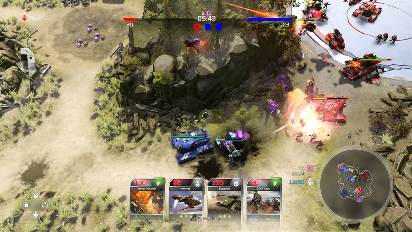 Microsoft Halo Wars 2: 40 Blitz Packs + 7 Free Xbox One Video game downloadable content (DLC)