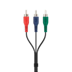 Belkin Component Video Cable 2m 2m RCA RCA Multicolour component (YPbPr) video cable