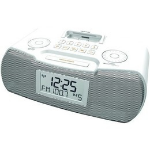 Sangean RCR-10 Clock Digital White radio