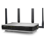 Lancom Systems 1780EW-4G+ wireless router Dual-band (2.4 GHz / 5 GHz) Gigabit Ethernet Black, Gray