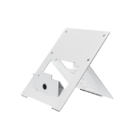 R-Go Tools R-Go Riser Flexible Laptop Stand, adjustable, white RGORISTWH