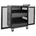 Tripp Lite CSC32AC portable device management cart/cabinet Black