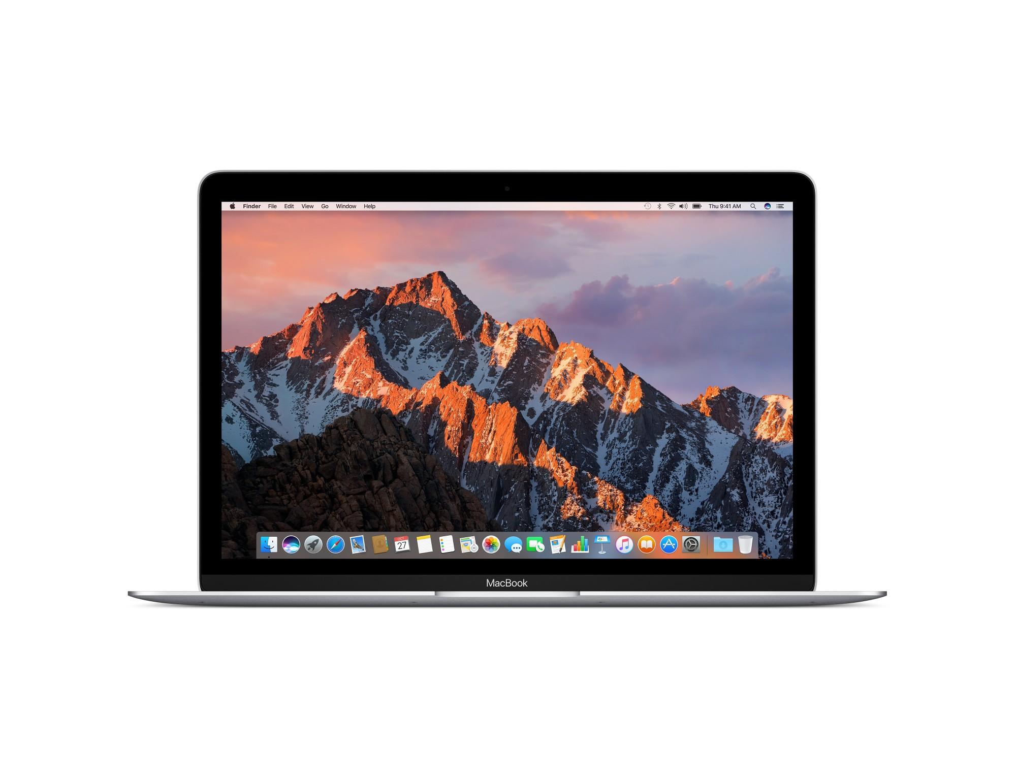 "Apple MacBook 1.3GHz 12"" 2304 x 1440pixels Silver Notebook"