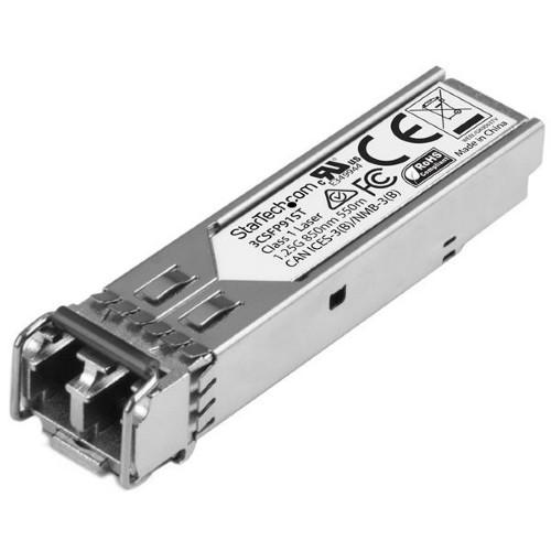 StarTech.com Gigabit Fiber 1000Base-SX SFP Transceiver Module - HP 3CSFP91 Compatible - MM LC - 550m (1804 ft)