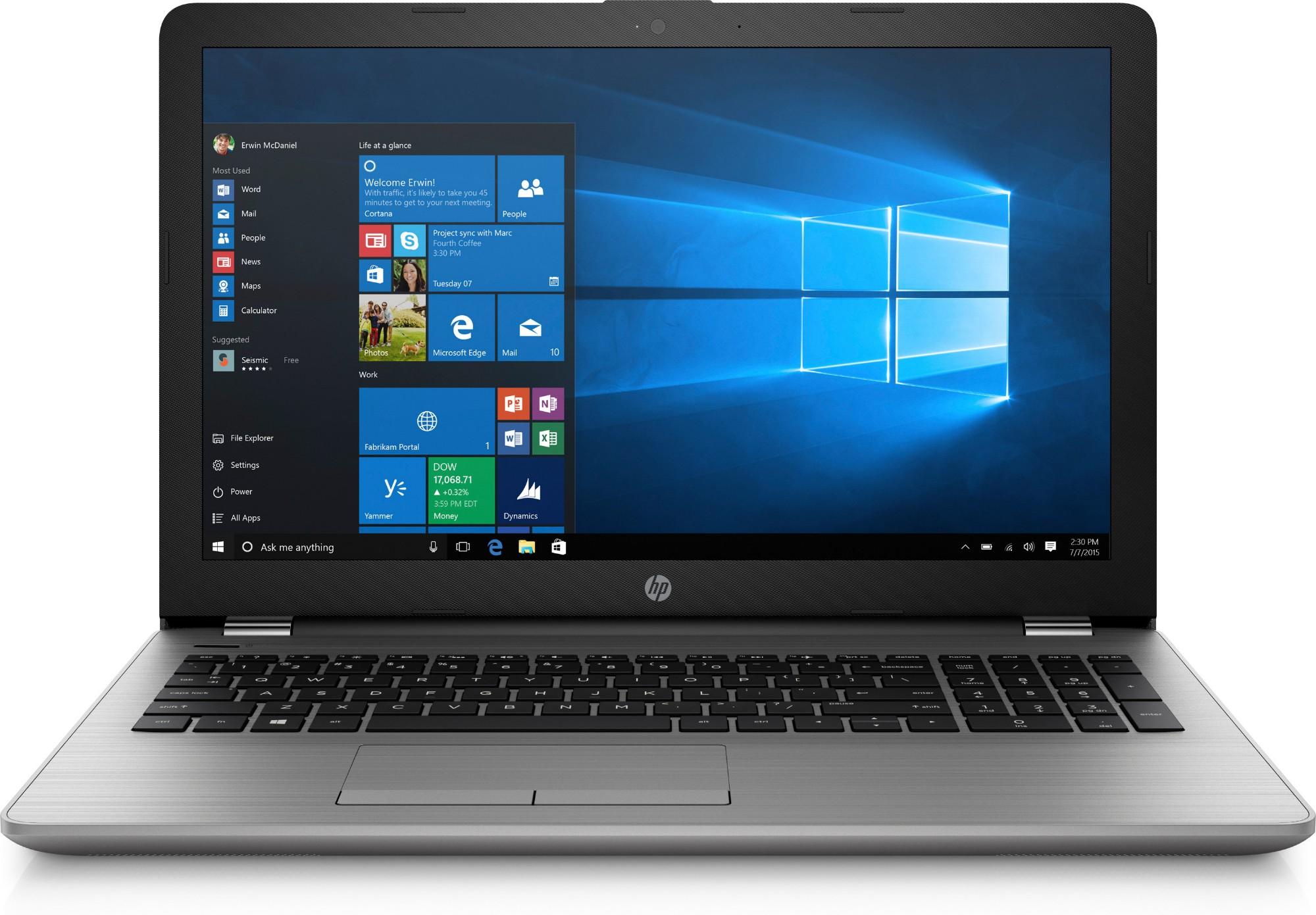 HP 250 G6 2.50GHz i5-7200U 7th gen Intel® Core™ i5 15.6
