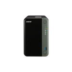 QNAP TS-253D J4125 Ethernet LAN Tower Zwart NAS