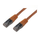 MCL FCC6BM-15M/O cable de red Naranja