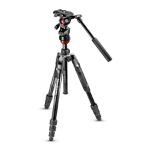 Manfrotto MVKBFRT-LIVE tripod Digital/film cameras 3 leg(s) Black,Red,Silver
