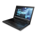 "Lenovo ThinkPad P52 Mobile workstation Black 39.6 cm (15.6"") 1920 x 1080 pixels 8th gen Intel® Core™ i7 16 GB DDR4-SDRAM 512 GB SSD NVIDIA® Quadro® P2000 Wi-Fi 5 (802.11ac) Windows 10 Pro"