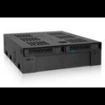 Icy Dock MB322SP-B drive bay panel Black