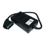 Cables Direct 1SB3 video splitter SCART