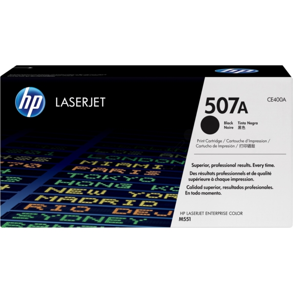 HP CE400A (507A) Toner black, 5.5K pages