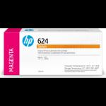 HP 624 Original Magenta 1 pieza(s)