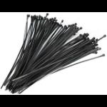 4XEM 4X6ZIPTIE100BR cable tie Releasable cable tie Nylon Black 100 pc(s)
