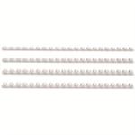 GBC CombBind Binding Combs 6mm White (100)