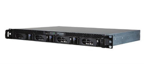 Netgear ReadyNAS 2304 Ethernet LAN Rack (1U) Black NAS