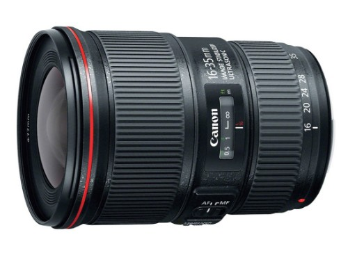 Canon EF 16-35mm f/4L IS USM SLR Black