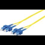 Microconnect FIB221010DC fiber optic cable 10 m SC Yellow