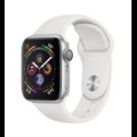 Apple Watch Series 4 reloj inteligente Plata OLED GPS (satélite)