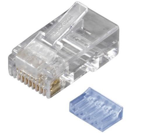 Black Box FMTP6-R2-25PAK wire connector RJ-45 Transparent