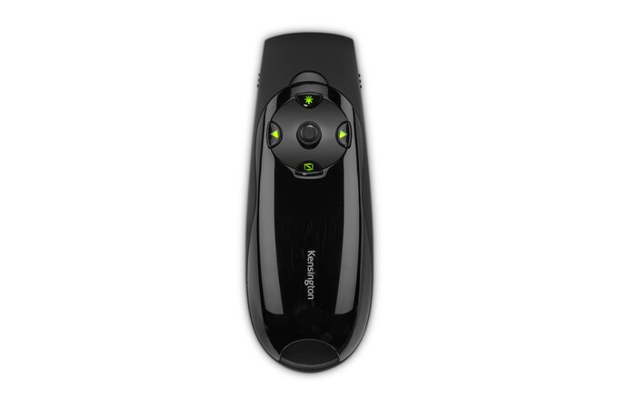 Kensington Presenter Expert™ Wireless Cursor Control with Green Laser and Memory