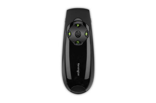 Kensington Presenter Expert™ Wireless Cursor Control with Green Laser and Memory