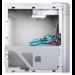Silverstone SG04S-F Micro-Tower Silver computer case