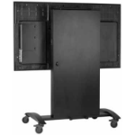 Peerless Smartmount Multimedia cart Black Flat panel