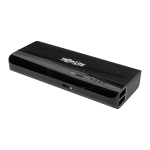 Tripp Lite UPB-12K0-S2X2U power bank Black Lithium-Ion (Li-Ion) 12000 mAh