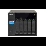 QNAP TX-500P disk array 10 TB Tower Black
