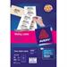 Avery Clear Mini Label- Ink jet - J8551