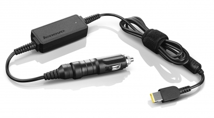 Lenovo 0B47481 power adapter/inverter 65 W auto Black