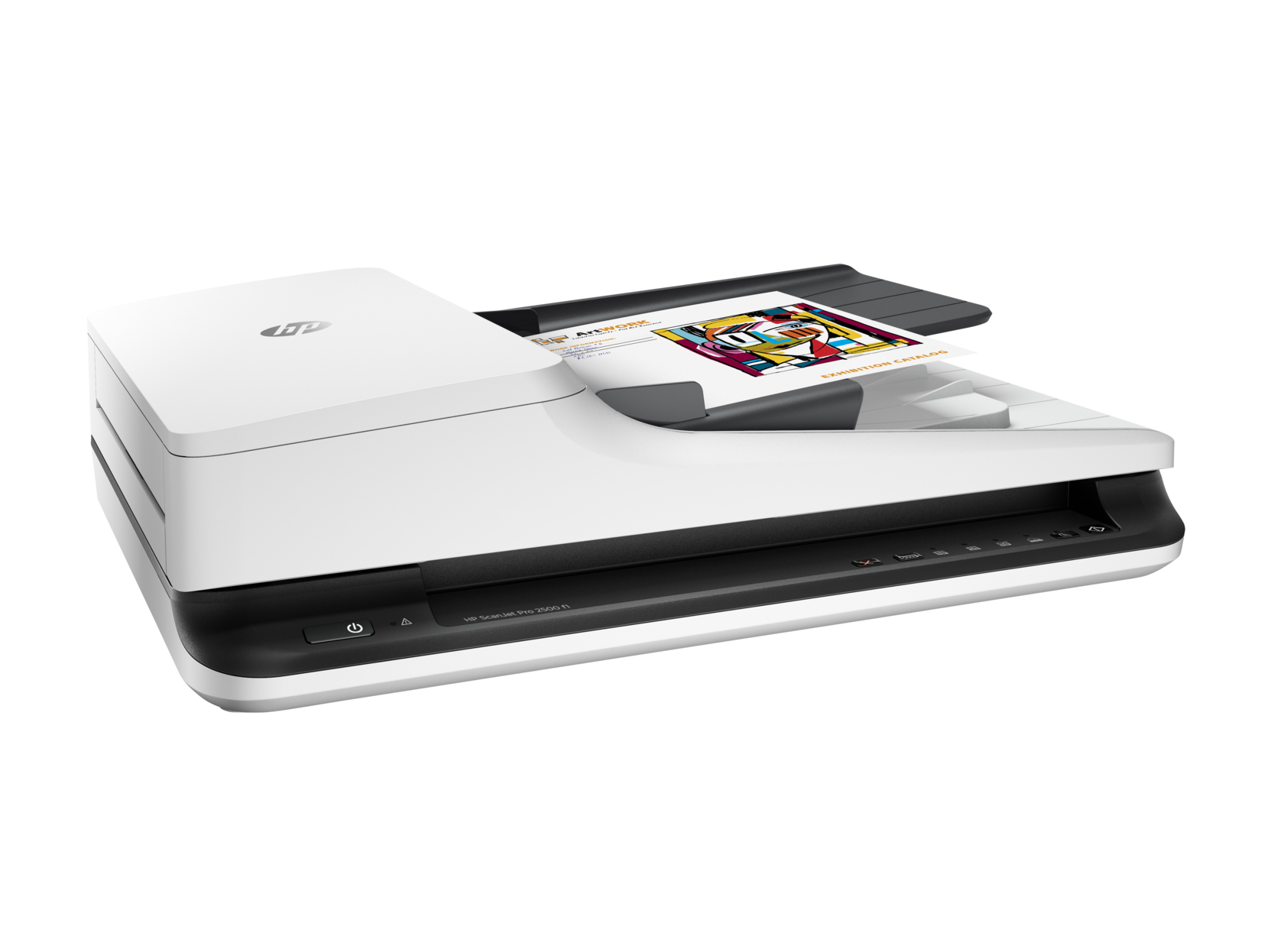 New Genuine HP Scanjet Pro 2500 F1 Flatbed Scanner White