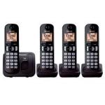PANASONIC TELEFONO DIGITAL INALAMBRICO CON CUATRO AURICULARES, dir
