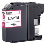 Brother LC-22EM Ink cartridge magenta, 1.2K pages, 12ml LC22EM