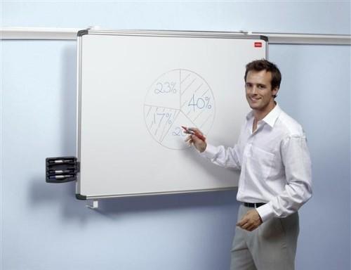 Nobo ProRail Non-Magnetic Drywipe Board 1800x900mm