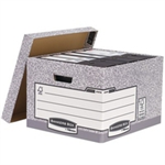 Bankers Box BANKERS STANDARD LARGE STORE BOX GRY