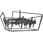 "Chief LCM4U flat panel ceiling mount 152.4 cm (60"") Black"