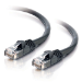 C2G Cat5E 350MHz Snagless Patch Cable 7m networking cable U/UTP (UTP) Black