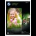HP Q2510A Fotopapier Schwarz, Blau, Weiß A4