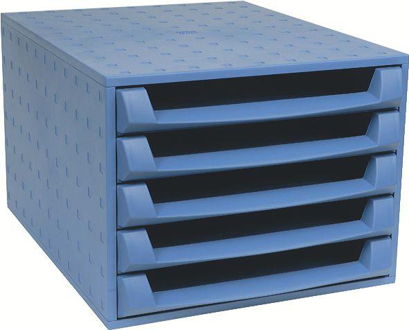 Exacompta 221101D desk tray/organizer Polypropylene (PP) Blue