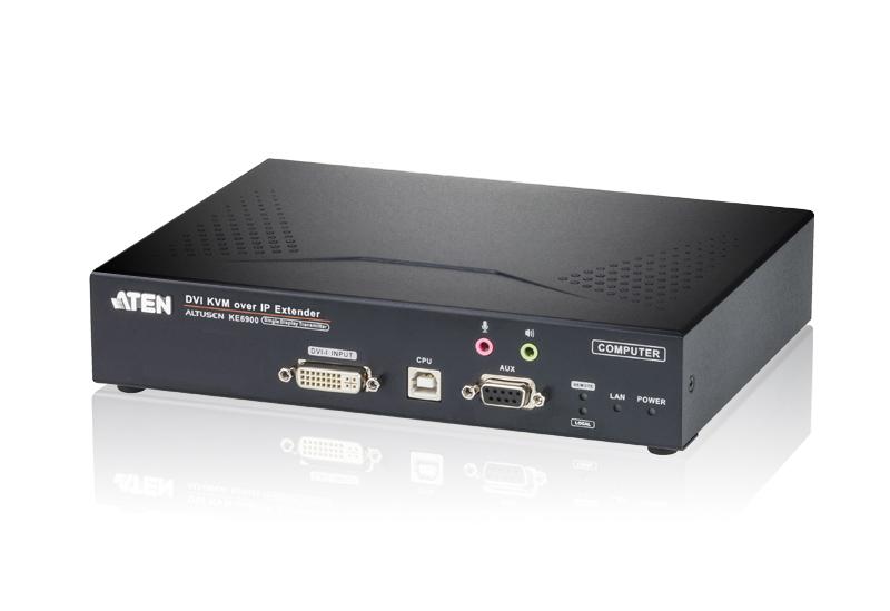 Altusen DVI KVM Over Ip Extender (transmitter Only)