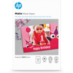 HP 7HF70A photo paper White Matt