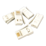 Videk 4149 cable boot White 10 pc(s)