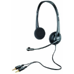 Plantronics Audio 322 Binaural Head-band Black headset