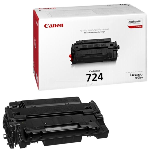 Canon 3481B002 (724) Toner black, 6K pages