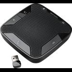 POLY Calisto P620 speakerphone Mobile phone Black USB/Bluetooth